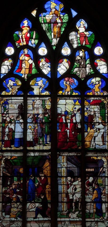 Pont-Audemer Saint-Honore Window