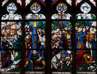 Pont-Audemer, The Saint-Peter Window