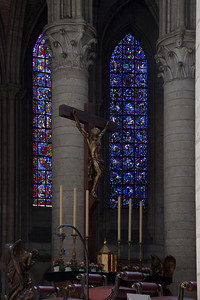 Rouen Notre-Dame Cathedral Altar & Windows