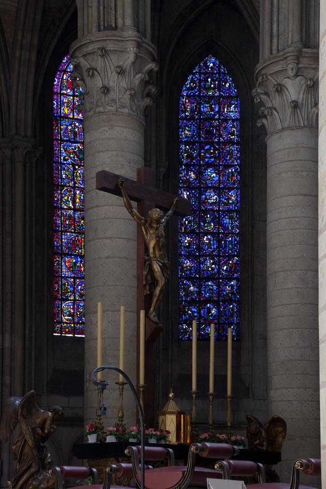 Rouen Notre-Dame Cathedral Altar & Windows
