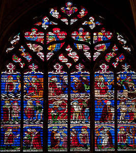 Troyes Saint Peter and Saint Paul Cathedral Saint Sebastian Window