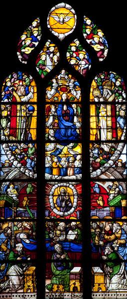 Notre-Dame du Krann, Glorification of The Virgin