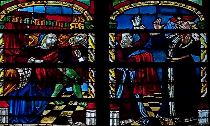 Troyes Saint Peter and Saint Paul Cathedral The Story of Joseph Window