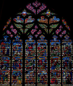 Troyes Saint Peter and Saint Paul Cathedral Story of Joseph Window
