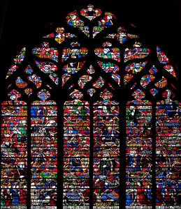 Troyes Saint Peter and Saint Paul Cathedral, The Tree of Jesse Window