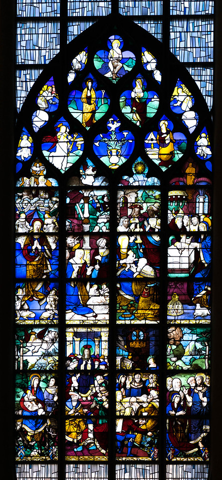 Rouen, Jeanne d'Arc Church - The Childhood of Christ