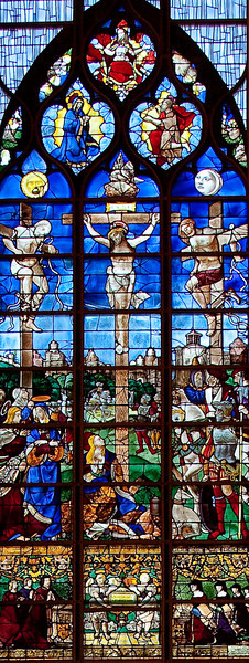 Rouen, Jeanne d'Arc Church - The Crucifixion
