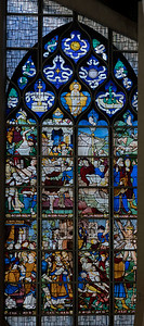 Rouen, Jeanne d'Arc Church - The Saint-Vincent Window