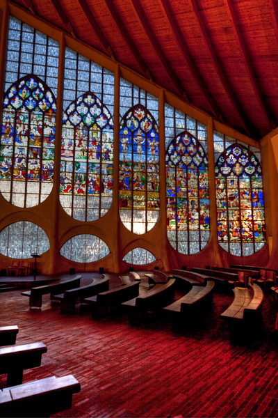 Rouen, Jeanne d'Arc Church Windows