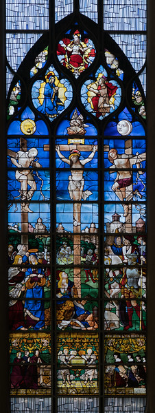 Rouen, Jeanne d'Arc Church - The Crucifixion