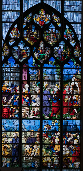 Rouen, Jeanne d'Arc Church - The Saint Peter Window