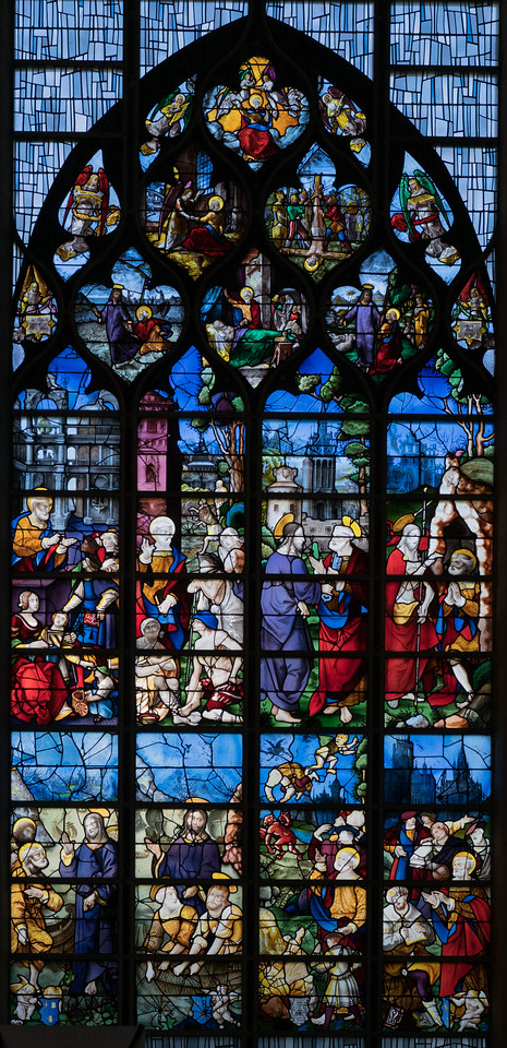 Rouen, Jeanne d'Arc Church - The Saint Peter Window