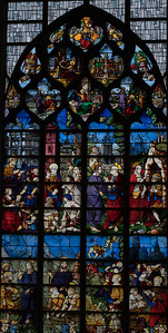 Rouen, Jeanne d'Arc Church - The Saint Peter Window (1520-30)