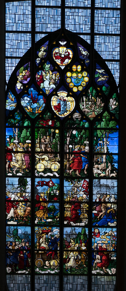Rouen, Jeanne d'Arc Church - The Triumph of Faith