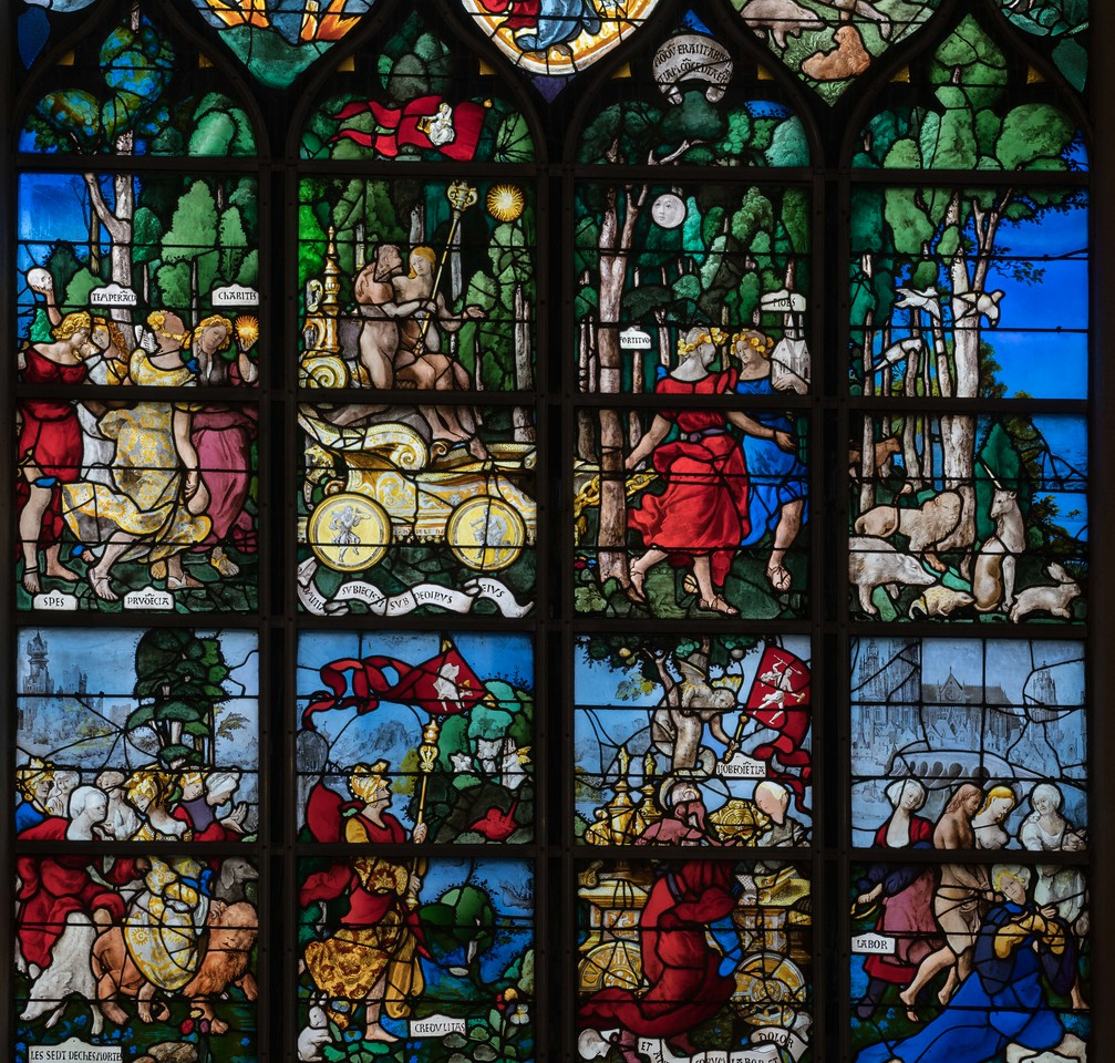 Rouen, Jeanne d'Arc Church - The Triumph of Faith (16C)
