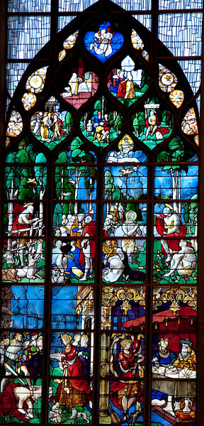 Rouen, Jeanne d'Arc Church - John the Baptist Window