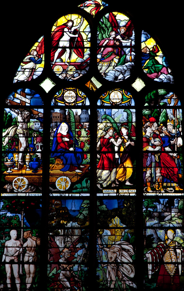 Rouen, Saint-Patrice Church, The Triumph of Faith