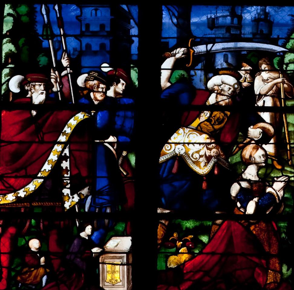 Rouen, Saint-Patrice Church, The Beheading of Saint Barbara