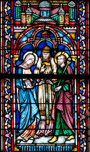 Semur-en-Auxois Collegiale, The Marriage of Mary and Joseph