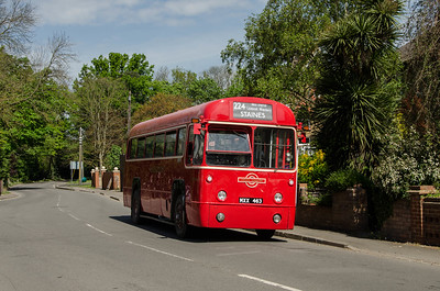 RF486 in Horton Road, Horton, near Wraysbury