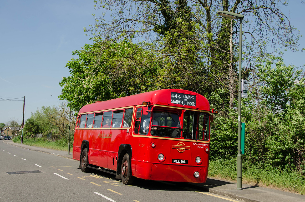 RF354 in Horton Road, Stanwell Moor