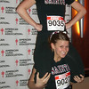 Climb Grand Rapids participants included cheerleaders!
