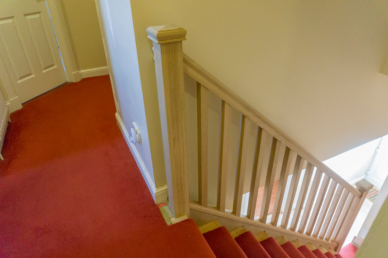 Completed stair