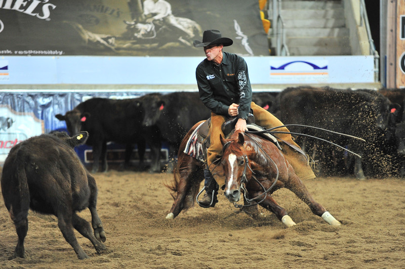 tapt dancin cat and the legend todd graham winning the 2011 ncha derby in tamworth