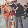 Arcanine, Growlithe, and Pokemon Trainer