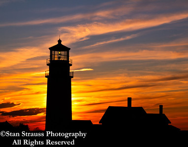 Highland Lighthouse Sunset #1