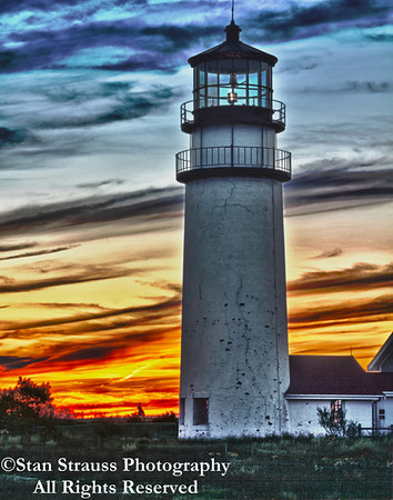 Highland Lighthouse Sunset #2