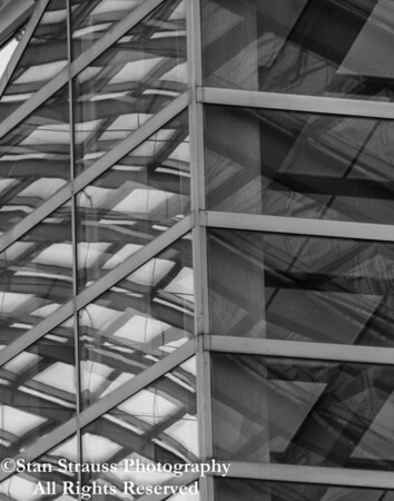 Building Abstract in B&W #6