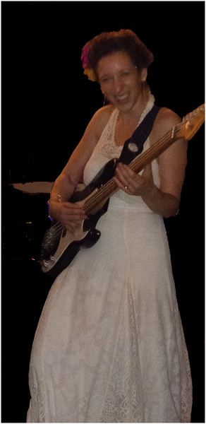 Bride on the Bass Guitar