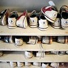 BEN GARVER — THE BERKSHIRE EAGLE<br /> Bowling shoes at Candle lanes in Pittsfield.
