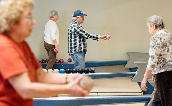 Candlepin bowling in Pittsfield. - 040218