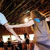 NINA COCHRAN - THE BERKSHIRE EAGLE <br /> Catherine Gallant teaches a community dance class for participants of all ages and skill levels at Jacob's Pillow on a rainy afternoon. Becket, Mass. July 13, 2017.