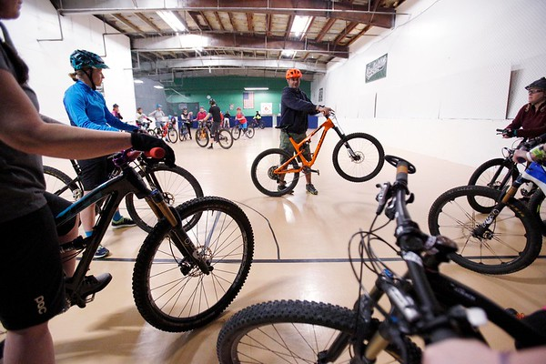 Indoor Bike Skills Clinic for Women at The Infield-033118