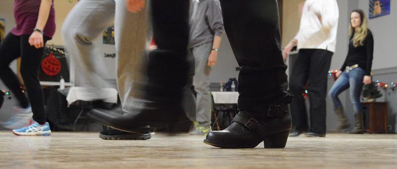 Line Dancing in Dalton - 112816