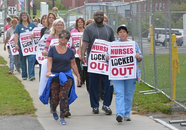 BMC Nurses Locked out