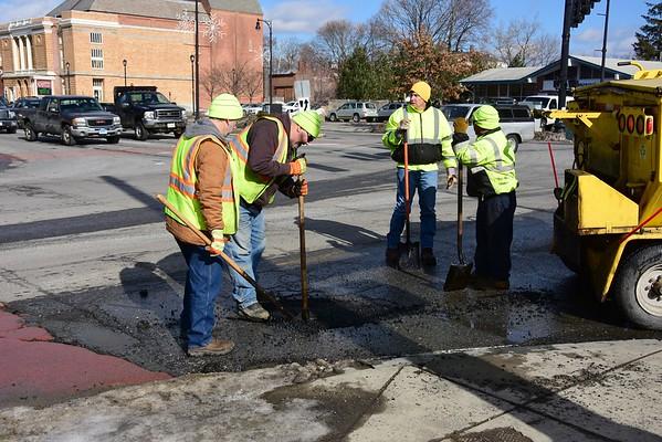 Pothole repair - 021218