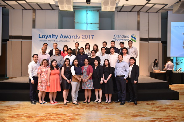 Standard Chartered Loyalty Award 2017