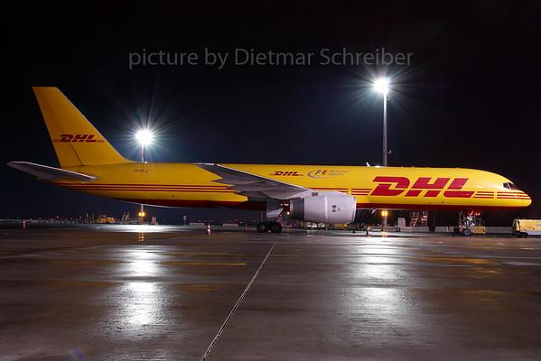 2007-12-07 OO-DLJ Boeing 757-200 DHL