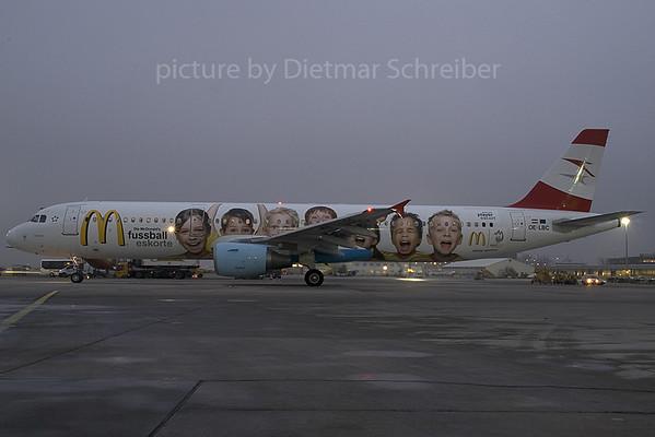 2007-12-21 OE-LBC Airbus A321 AUstrian Airlines