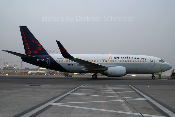 2007-12-20 OO-VEX Boeing 737-300 Brussels Airlines