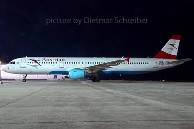 2007-12-02 OE-LBF Airbus A321 Austrian Airlines