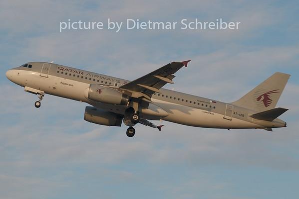 2008-12-08 A7-ADB Airbus A320 Qatar Airways