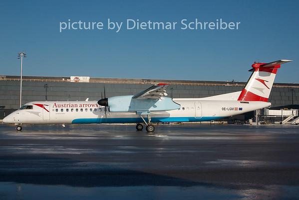 2010-12-20 OE-LGM Dash8-400 Austrian Arrows