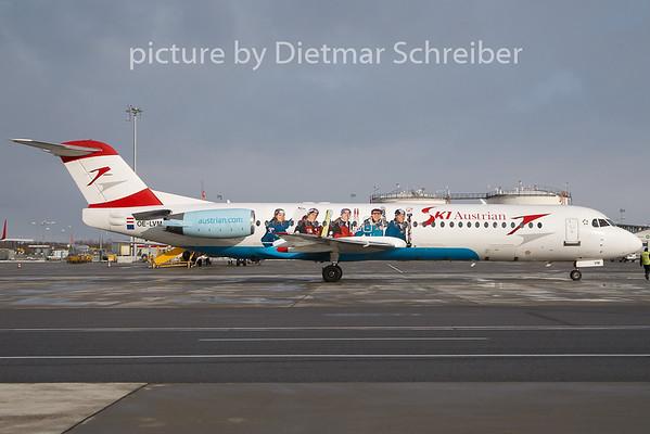2010-12-10 OE-LVM Fokker 100 Austrian