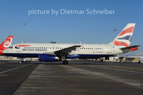 2012-12-07 G-EUUM Airbus A320 British Airways