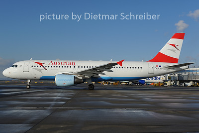 2012-12-07 OE-LBU Airbus A320 Austrian Airlines